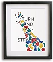 Changes by David Bowie inspired song lyric art print, inspirational wall decor gifts