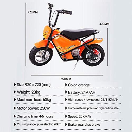 Elektrisches Motorrad Für Kinder Yedina Kindermotorrad 24 v Bild 4*