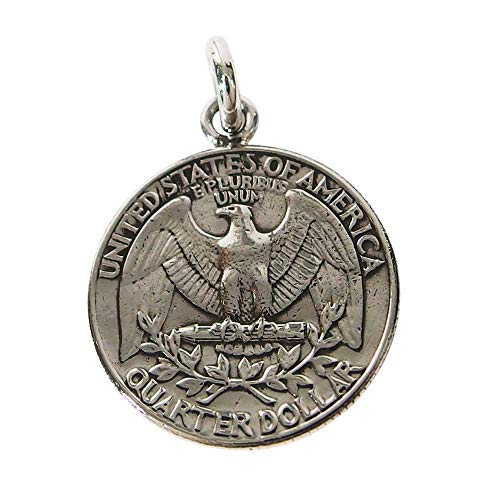 本物のアメリカのコインペンダント(1) コイン 硬貨 アクセサリー メンズ レディース 海外