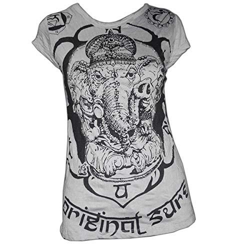 PANASIAM Sure T-Shirt Ganesh, Size S, in Grey