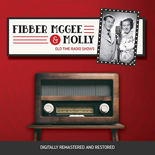 Fibber McGee and Molly audiobook cover art