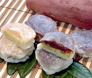 秘密のケンミンSHOW いきなり団子 黒あん10個+白あん5個 かんしょや 有機栽培サツマイモを使用した、モチモチの熊本銘菓。
