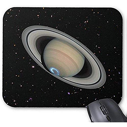 Muis Mat Space Planets muismat, Gaming Mouse Pad Mousemat Planet Saturnus Sterrenhemel muismat Maak uw eigen muismatten Rechthoek Kleurrijke Sky Mousepad 25X30Cm