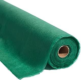 Green Flame Retardant Gossamer Fabric, 19 Inches x 50 Yards