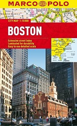 Boston Marco Polo City Map 1:15K (Marco Polo City Maps) by Marco Polo Travel Publishing(2013-01-01)