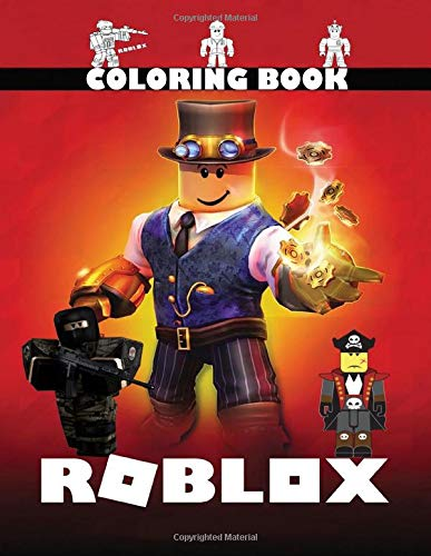 Roblox Coloring Book: Perfect Gift For Your Kids, Fan of Roblox With Amazing Artwork. Keep Them Happy on Christmas and New Year Eve