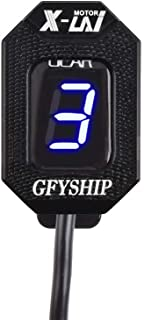 GFYSHIP for Honda CMX500 Rebel 2017-2020 Blue CRF250 L 2012-2020 Motorcycle LCD 1-6Level Gear Indicator Digital Meter CRF250 M 2013-2014