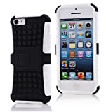 iPhone 5c Case, [Heavy Duty] iPhone 5C Rubber Case [Eternal Life Series] Shock Proof Hard Skin with [Rugged Protective] Cute Armor Shell for The 2015 Apple iPhone 5c