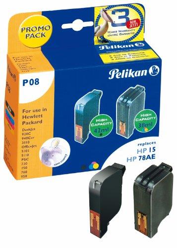 Pelikan Druckerpatrone P08 ersetzt HP 51645A/C6578A, 3-color