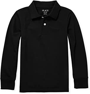 The Children's Place Boys' Long Sleeve Uniform Polo