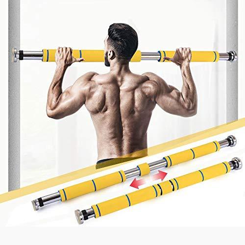 HLKODS Tür Horizontalstangen Stahl Klimmzugstange Verschiedene Übungen einschließlich Klimmzüge Fitnessstudio Workout Kinn Push Up Fitness Sit-ups