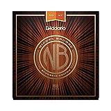 D'Addario NB1047 - Juego de cuerdas acústicas, Extra Light 10-47