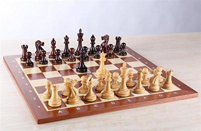 estar en gran demanda Zoocen Hogh Quality Quality Quality Wooden Chess 16 x16   gran selección y entrega rápida
