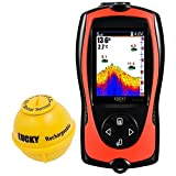 Best Portable Fish Finders - LUCKY Portable Fish Finder Transducer Sonar Sensor 147 Review