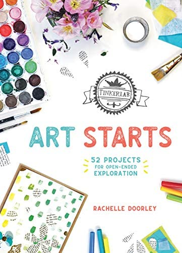 TinkerLab Art Starts 52 Projects for Open Ended Exploration product image