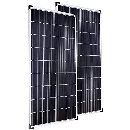 Offgridtec Sparbundle 2 Stk. Monkristallines Solarpanel 001255 150W 12V