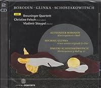 Shostakovich, Borodin: Piano Quintet, Glinka: Sextet: Stoupel(P) Breuninger Q Felsch(Cb)