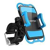 CHOETECHSupport Universel Téléphone Rotatif Sur Vélo & Moto, Installer et Retirer d'un Seul Coup, pour iPhone 7/ 7 Plus/ 6/ 6 Plus/ SE/ 5S/ 5C/ 4/ 4S, S7/S7 Edge, LG G5, HTC10, GPS et Autres Appareils