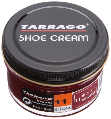 Tarrago Shoe Cream Jar, Zapatos y Bolsos Unisex Adulto, Morado (Burdeaux 11), 50 ml