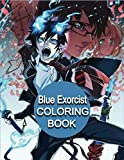 Blue Exorcist Coloring Book: Anime Manga Series Relaxing Painting Pages with Easy Designs for Everyone +90pages ( 8 x 10 )
