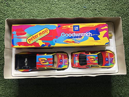 Brookfield Collectors Guild 1999 Limited Edition Dale Earnhardt Peter Max/Goodwrench Show Trailer & Car Collection 1:24 scale Diecast Set