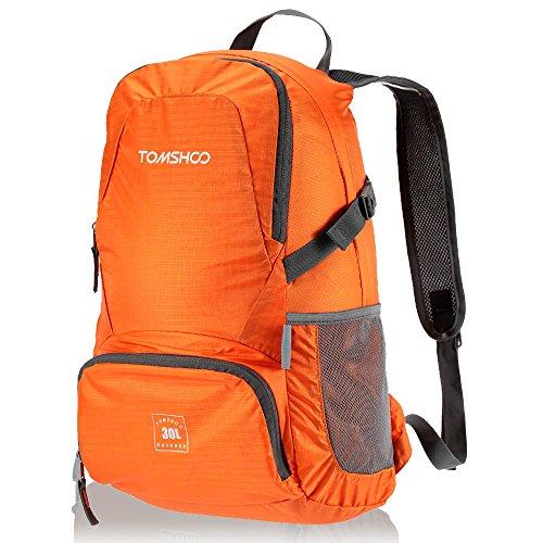 TOMSHOO 30L Ultraleggero Idrorepellente Di Nylon Outdoor Zaino Borsa Pieghevole Viaggio Hiking