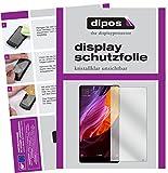dipos I 2X Schutzfolie klar kompatibel mit Xiaomi Mi Mix 2 Folie Bildschirmschutzfolie