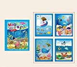 3 Montessori Coloring Book Doodle & Magic Pen Painting Drawing Board For Kids Toys Magic Water Drawing Book Birthday Gift