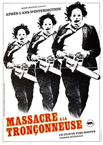 Poster affiche Massacre A La Tronçonneuse Original Horror Movie