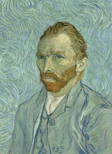 PalaceLearning Vincent Van Gogh Self Portrait Poster Print - Fine Art Wall Decor (18""