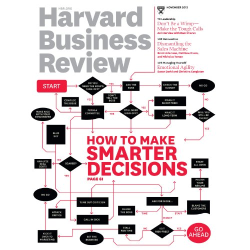 Harvard Business Review, November 2013 cover art