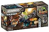 Playmobil - Dino Rise - Triceratops et Soldats - Accessoires Inclus - 70627