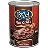 B&M Baked Beans, Red Kidney, 28 Ounce (Pack of 12)
