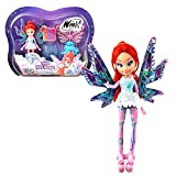 Winx Club Bloom | Tynix Mini Magic Muñeca Hada con Transformación | 12 cm