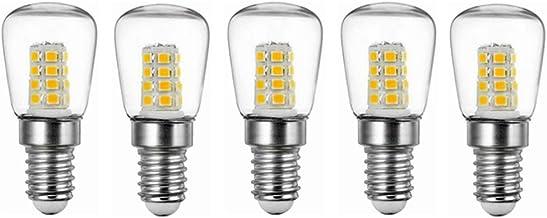 LED Lamp 5pcs 3W E14 Refrigerator LED Bulb AC220V Bright Indoor Lamp for Fridge Freezer Crystal Chandeliers Lighting Light...