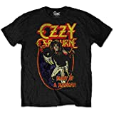 Ozzy Osbourne 'Diary of A Mad Man' T-Shirt (Large) Black
