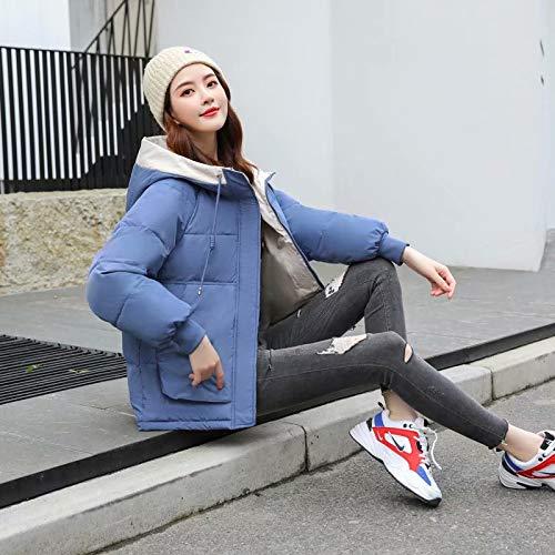 MILASIA Dames donsjack winter met capuchon Korte broodjas Koreaanse versie