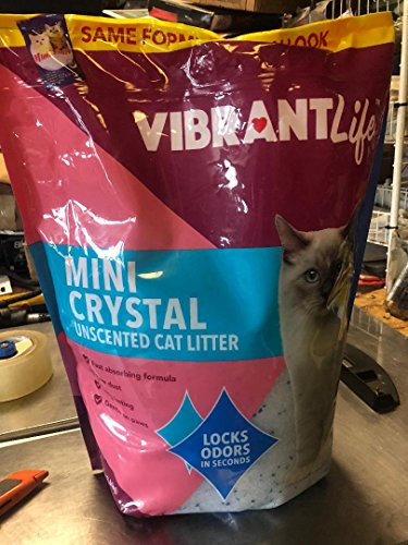 Mimi Litter Mimi Pet Cat Litter Silica Gel Crystals, Ultra Absorbent & Lightweight 8-Pound Bag by