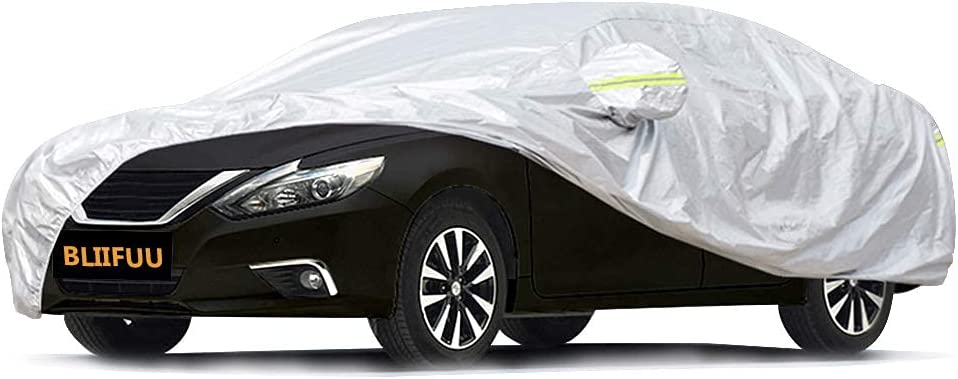 Bliifuu All Seasons Sedan Car Cover $19.49 Coupon