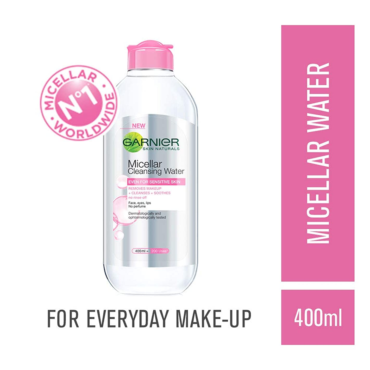 スリラーお酒わかりやすいGarnier Skin Naturals, Micellar Cleansing Water, 400ml