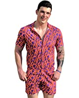 Zesties Male Romper (XL, Fire)