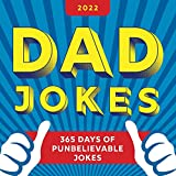 2022 Dad Jokes Boxed Calendar: 365 Days of Punbelievable Jokes (Daily Calendar, Joke Calendar for Him, Desk Gift for Her) (World s Best Dad Jokes Collection)