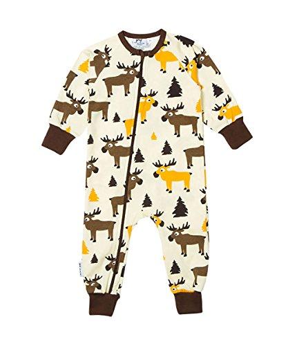 JNY Colourful Kids - Grenouillère - Bébé (garçon) 0 à 24 mois Beige ivoire Small - Beige - 3 mois