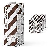 Sproud 100% Dairy-Free Milk - Chocolate Flavor - 1 Liter (Pack of 6) - Plant-Based, Powered by Peas - Shelf Stable – Non-GMO - Allergen Free Milk Alternative
