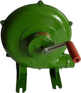Yx-outdoor Manivela de herrería forja soplador, soplador de Barbacoa Manual, Ventilador de Barbacoa Super Viento 350W