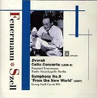 交響曲第9番『新世界より』、チェロ協奏曲 セル、フォイアマン、タウベ