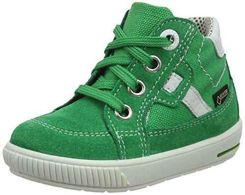 Superfit Baby-Jungen Moppy Surround Sneaker, Grün (Grün Kombi), 26 EU