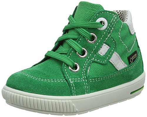 Superfit Baby-Jungen Moppy Surround Sneaker, Grün (Grün Kombi), 23 EU
