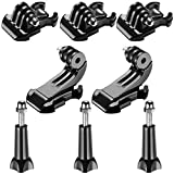 Neewer 8-in-1 Accessory Kit for Gopro, Buckle Clip Basic Mount, Vertical Surface Quick Mounting J-Hook Buckle Mount, Long Thumb Screw for GoPro Hero 3 3+ 4 5 6 7 Accessories SJ4000 SJ5000 SJ6000