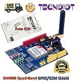 GPRS módulo incl Sim800l GSM antena y adaptador de banda quad